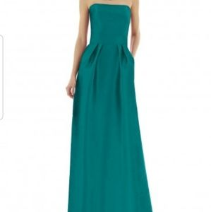 Alfred Sung Bridesmaid Dress